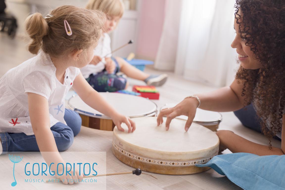 Granada arte musica danza escuela bebé infantil niños actividades familia Gorgoritos